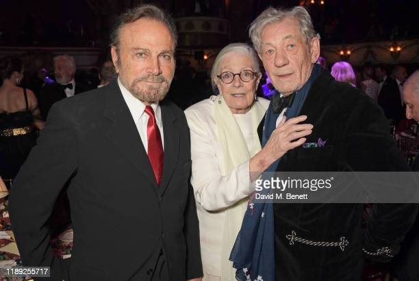 Franco Nero Vanessa Redgrave and Sir Ian McKellen attend the after party of the 65th Evening Standard Theatre Awards in association with Michael Kors...