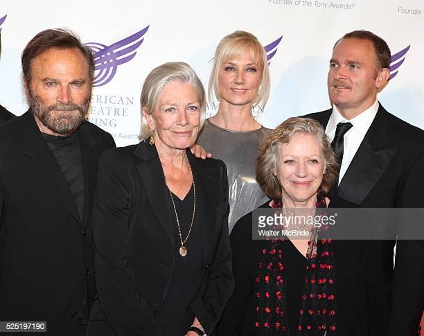 Franco Nero, Vanessa Redgrave, Joely Richardson, Kika Markham & Carlo Gabriel Nero attending the American Theatre Wing's annual gala at the Plaza...