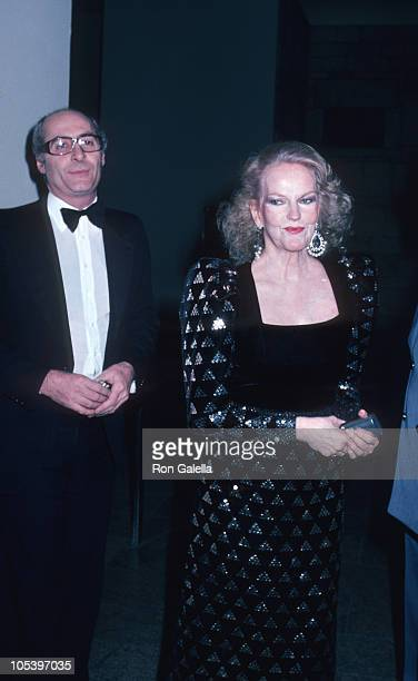 Franco Rossolini and Doris Duke during The 18th Century Woman Costume Exhibition at Metropolitian Museum of Art in New York City New York United...