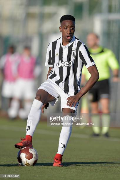 Franco Tongya during the U17 match between Torino FC and Juventus on January 28 2018 in Turin Italy