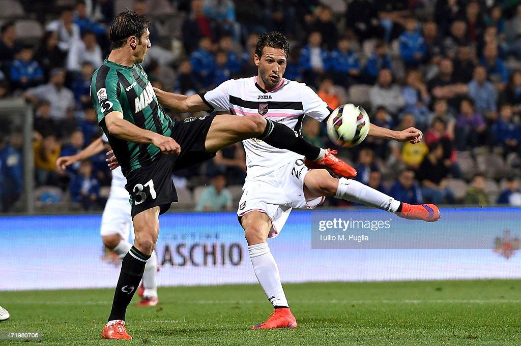 US Sassuolo Calcio v US Citta di Palermo - Serie A : News Photo