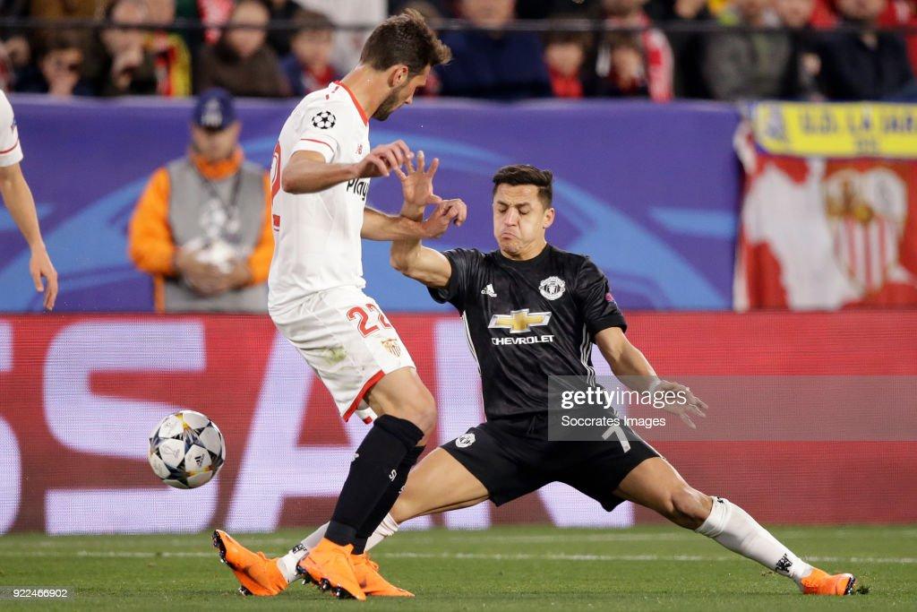 Sevilla v Manchester United - UEFA Champions League : ニュース写真
