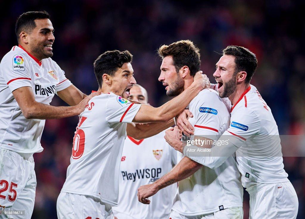 Sevilla v Leganes - Copa Del Ray Semi Final: Second Leg : News Photo