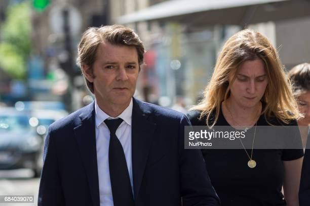 Francois Baroin in Paris, France, on May 16, 2017 for a LR Right Wing Party meeting after French Presidential Election.