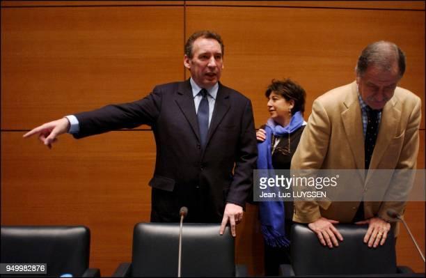 Francois Bayrou Corinne Lepage Noel Mamere