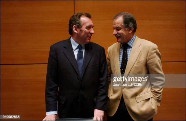 Francois Bayrou Noel Mamere