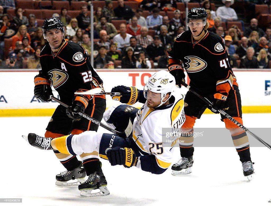 Nashville Predators v Anaheim Ducks : News Photo