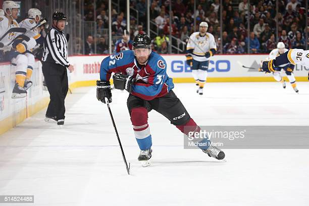 Francois Beauchemin of the Colorado Avalanche skates against the Nashville Predators at the Pepsi Center on March 05 2016 in Denver Colorado