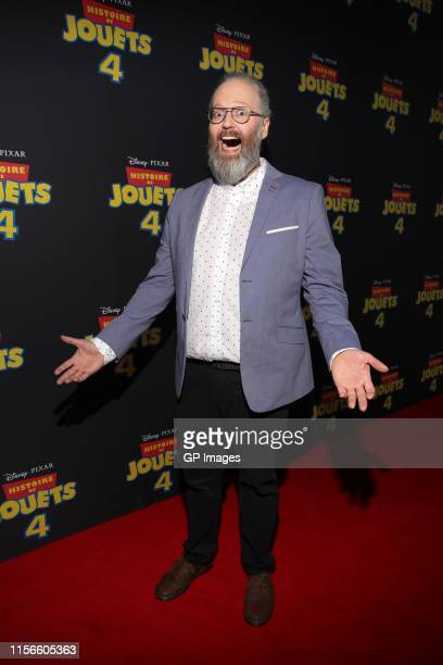Francois Bellefeuille attends the 'Toy Story 4' Montreal Premiere at Starcité Montréal Cinemas on June 17 2019 in Montreal Canada