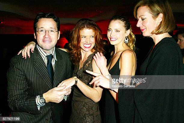 Francois Bennahmias Debra Messing Estella Warren Allison Janney