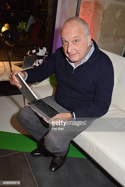 Francois Berleand attends the Acer Pop Up Store Launch Party at Les Halles on November 20, 2014 in Paris, France.