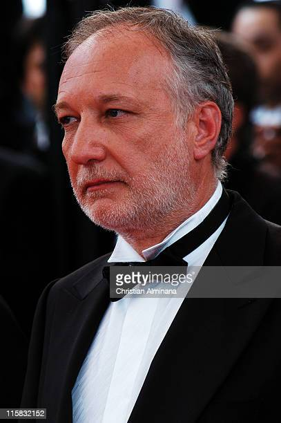 Francois Berleand during 2004 Cannes Film Festival The Bad Education Opening Night Premiere at Palais Du Festival in Cannes France