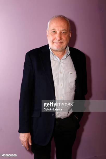 Francois Berleand poses during the 3rd day of Valenciennes Cinema Festival on March 15, 2017 in Valenciennes, France.