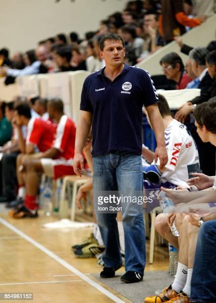 Francois BERTHIER Paris Handball / Selestat 26e Journee de division 1 Stade Pierre de Coubertin