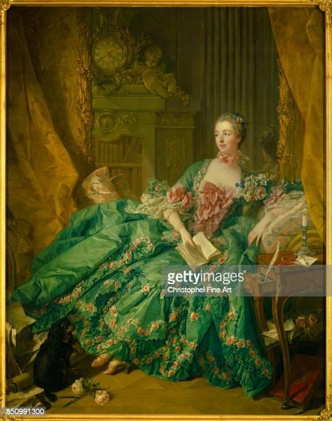 Francois Boucher Portrait of the Marquise de Pompadour 1756 Oil on canvas 201 x 157 m Munich Alte Pinakothek