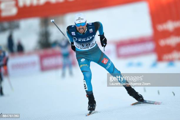 Francois Braud of France competes during the FIS Nordic World Cup Nordic Combined HS138 / Ind Gund on December 3 2017 in Lillehammer Norway