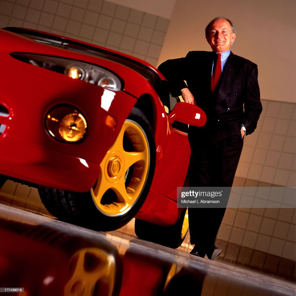 Francois Castaing With Dodge Viper : News Photo
