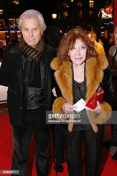 Francois Catroux and Charlotte Aillaud attend the 'Yves Saint Laurent' Paris movie Premiere at Cinema UGC Normandie on December 19 2013 in Paris...