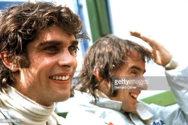 Francois Cevert Jackie Stewart Grand Prix of Germany Nurburgring Nurburg Germany August 1 1971