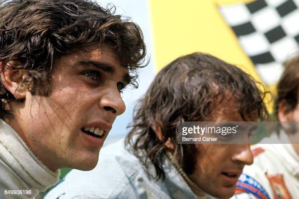 Francois Cevert TyrrellFord 002 Grand Prix of Germany Nurburgring Nurburg Germany August 1 1971