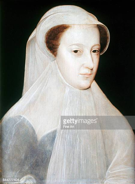 Francois Clouet Portrait of Mary Queen of Scots c 1559–61 oil on panel Royal Collection London