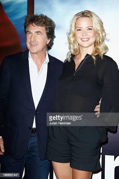 Francois Cluzet and Virginie Efira attend 'En Solitaire' Paris Premiere at Cinema Gaumont Capucine on November 4 2013 in Paris France
