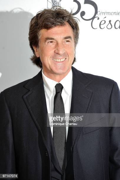 Francois Cluzet attends the 35th Cesar Film Awards at Theatre du Chatelet on February 27 2010 in Paris France