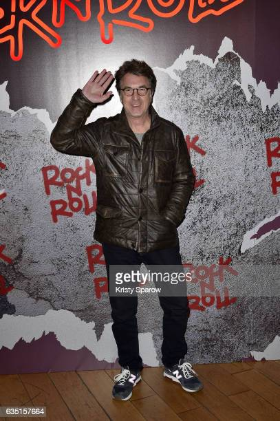 Francois Cluzet attends the 'Rock'N Roll' Premiere at Cinema Pathe Beaugrenelle on February 13 2017 in Paris France