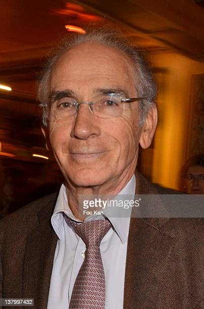 Francois de Closets attends the Procope Des Lumieres' Literary Awards First Edition at the Procope on January 30 2012 in Paris France