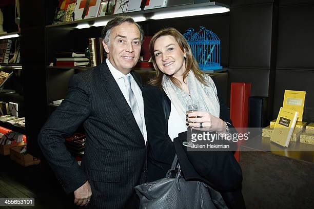 Francois Delahaye and guest attend 'The Luxury Alchemist' Book Launch Cocktail At Assouline Boutique on December 12 2013 in Paris France