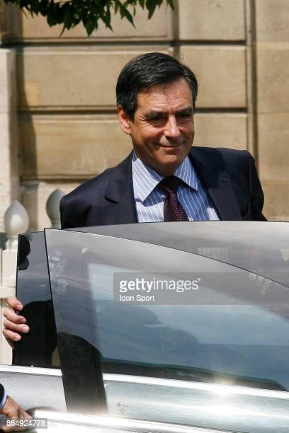 Francois FILLON Premier Ministre Conseil des Ministres Remaniement Ministeriel de Juin 2009 Palais de l Elysees Paris