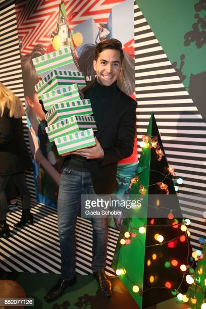 Francois Goeske during the Jo Malone London 'Crazy Colourful Christmas' event at Goldberg Studios on November 29 2017 in Munich Germany