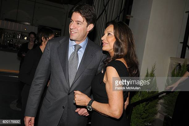 Francois Graff and AnneMarie Graff attend AMERICAN JEWISH COMMITTEE Honors LAURENCE GRAFF at Daniel on November 14 2008 in New York City
