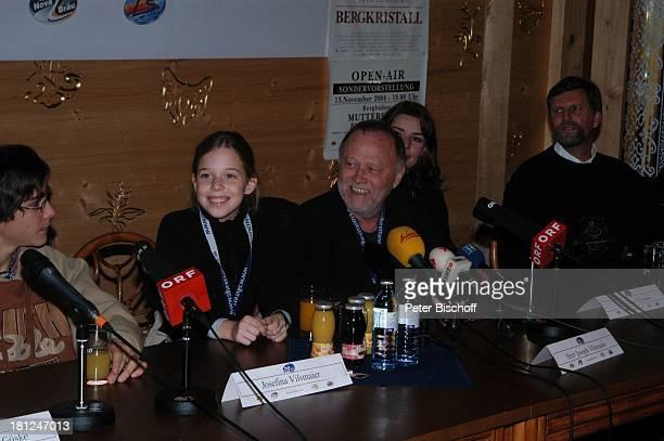 Francois Göske, Josefina Vilsmaier, Vater Joseph Vilsmaier , Ehefrau Dana Vavrova, Bürgermeister von Prudenz, , Uraufführung vom Kinofilm:...