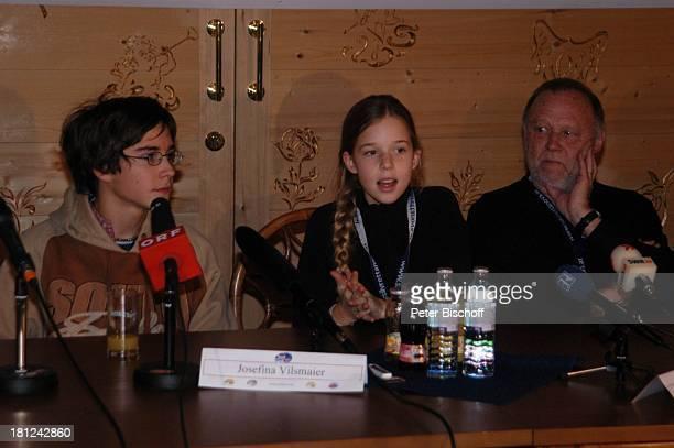 Francois Göske Josefina Vilsmaier Vater Joseph Vilsmaier Uraufführung vom Kinofilm Bergkristall Premiere BludenzNuziders/Vorarlberg/ sterreich...