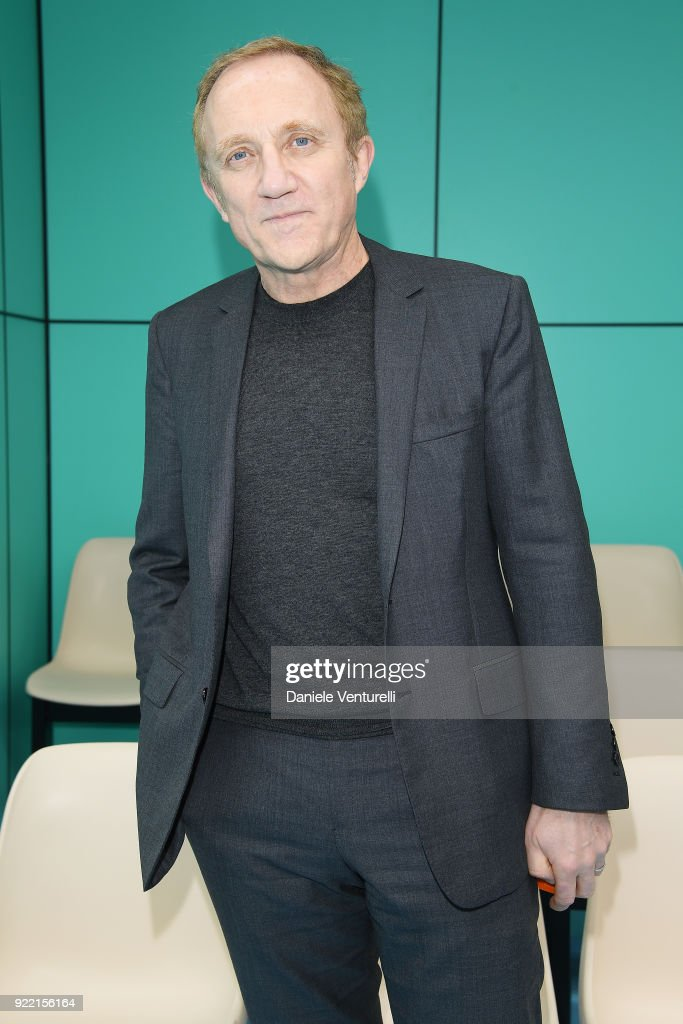 Francois Henri Pinault attends the Gucci show during Milan Fashion Week Fall/Winter 2018/19 on February 21, 2018 in Milan, Italy.