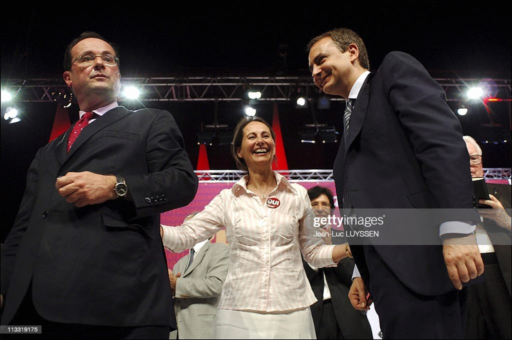 Resultado de imagem para François Hollande e José Luis Zapatero