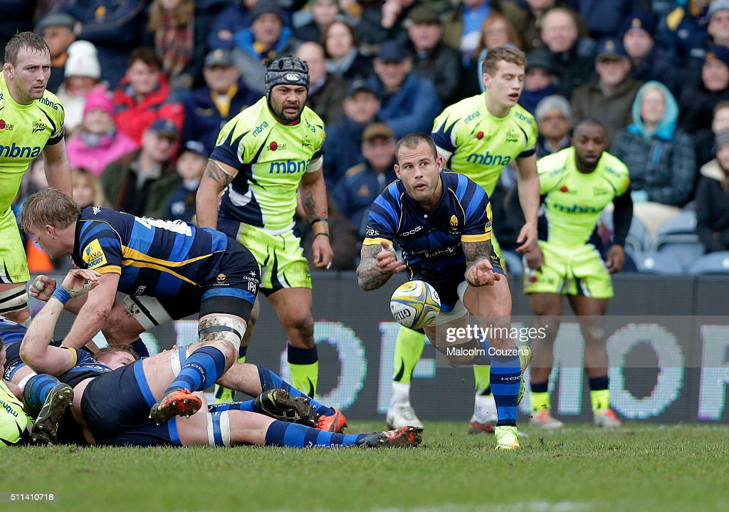 Worcester Warriors v Sale Sharks - Aviva Premiership : News Photo