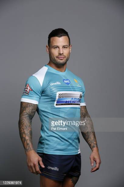 Francois Hougaard poses for a portrait during the Worcester Warriors squad photo call for the 202021 Gallagher Premiership Rugby season on on October...