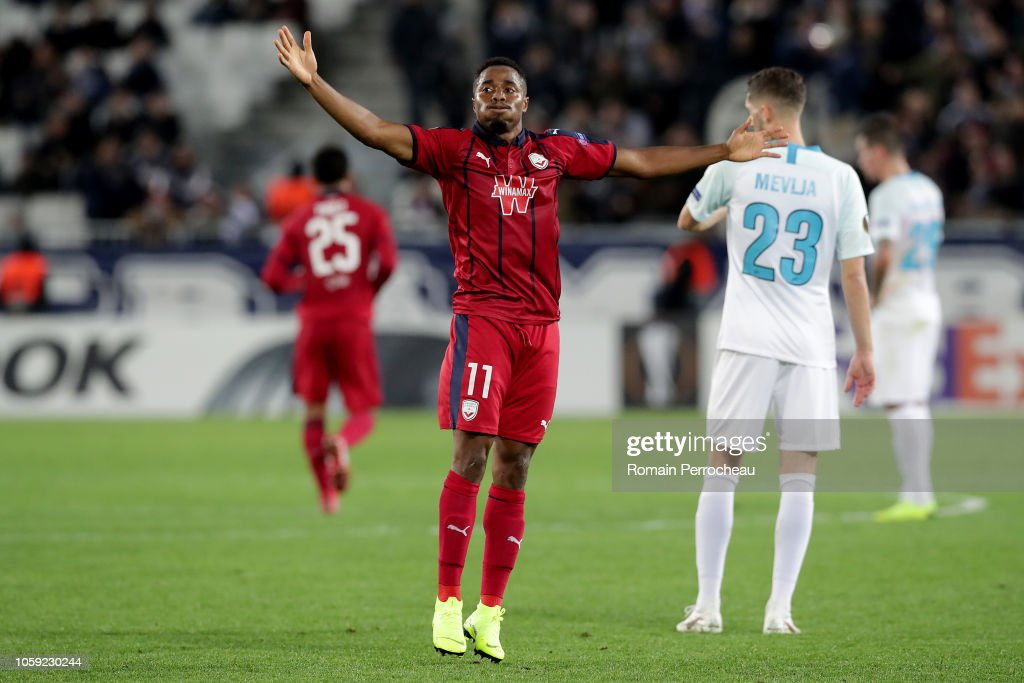 Girondins de Bordeaux v Zenit Saint Petersburg - UEFA Europa League - Group C : News Photo