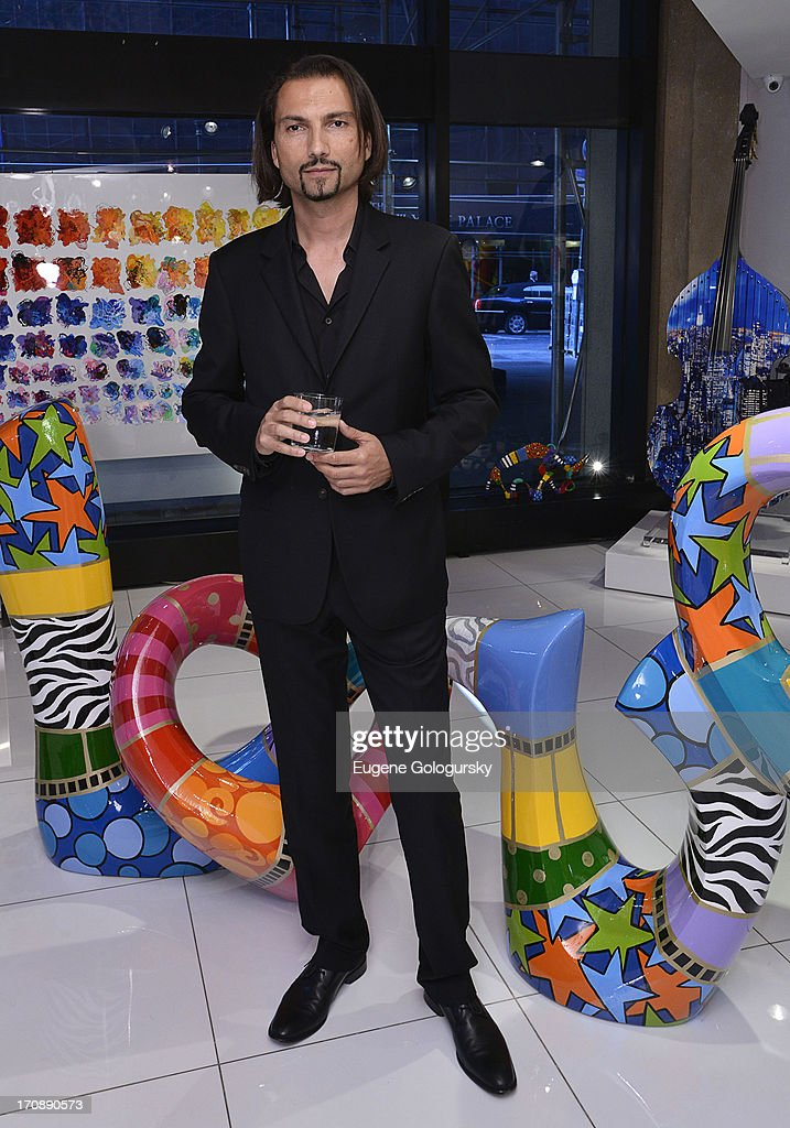 Francois Karimi attends the Gotham Magazine Celebration of Its Featured Amazing Faces Of NYC Beauties on June 19, 2013 in New York City.