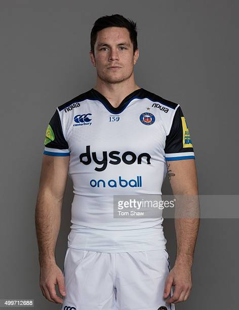 Francois Louw of Bath poses for a picture during the Bath Rugby photocall at Farleigh House on December 1 2015 in Bath England