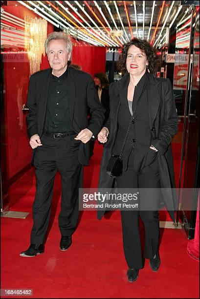 Francois Marthouret and Sylvie Fennec at Dalida TV Film Tribute To The Singer
