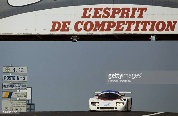 Francois Migault of France drives the Automobiles Louis Descartes ALD C289 Ford Cosworth DFL V8 during the FIA World Sportscar Championship 24 Hours...