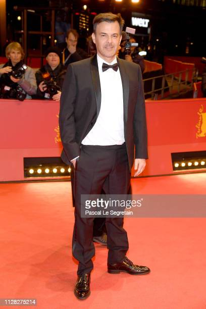 Francois Ozon attends the Grace A Dieu premiere during the 69th Berlinale International Film Festival Berlin at Berlinale Palace on February 08 2019...