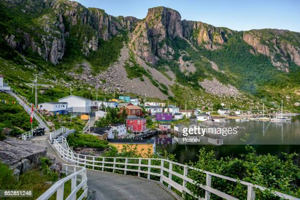 francois - newfoundland and labrador stock pictures, royalty-free photos & images