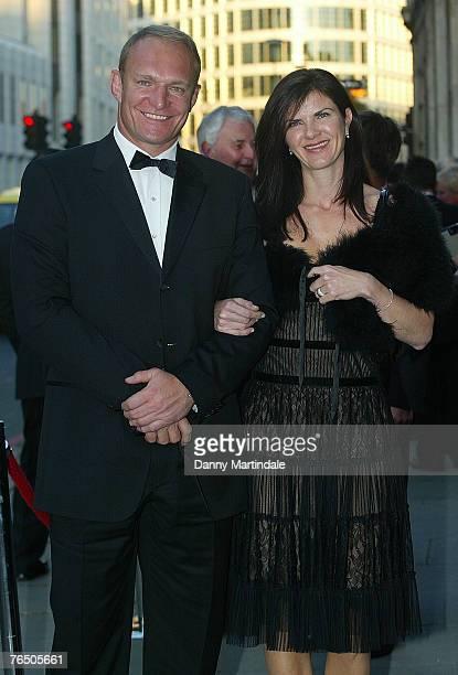 Francois Pienaar and Nerine Pienaar attends The Rugby Reunion September 4 2007 in London