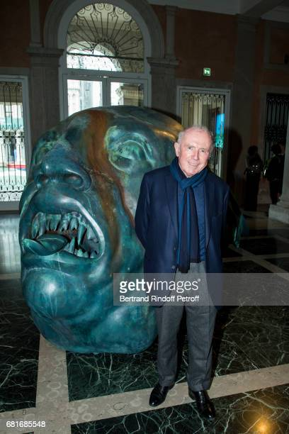 Francois Pinault attends Damien Hirst's exibition at Pallazzo Grassi during the 57th Venice Biennale on May 10, 2017 in Venice, Italy.