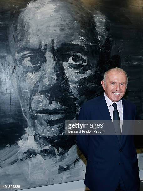 Francois Pinault attends the 'Picasso Mania' : Press Preview. Held at Grand Palais on October 4, 2015 in Paris, France.
