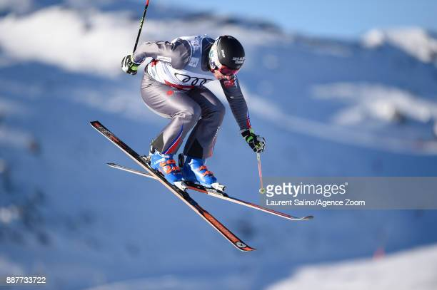 Francois Place of France during qualifications during the FIS Freestyle Ski World Cup, Men's and Women's Ski Cross on December 7, 2017 in Val...